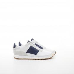 Callao White/Blue Strip