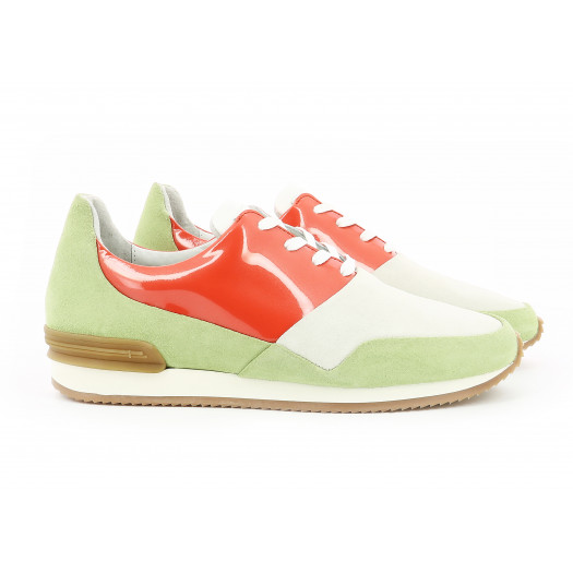 BARRANCO LADY PASTEL GREEN/ORANGE