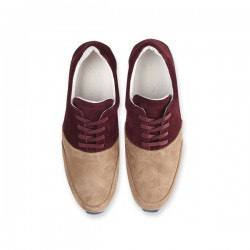 BARRANCO LADY BORDEAUX/TAUPE