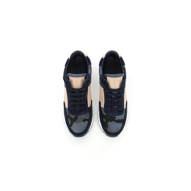 Callao - Navy Nude Camouflage - Woman
