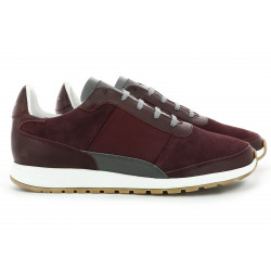 CALLAO BURGUNDY REFLECTIVE GREY