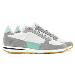 CALLAO HOMME  WHITE CLEAR GREEN