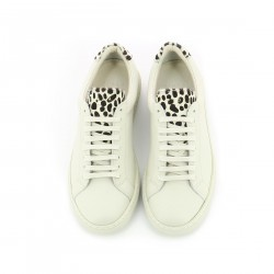 Huaraz - Off White Leopard - Woman