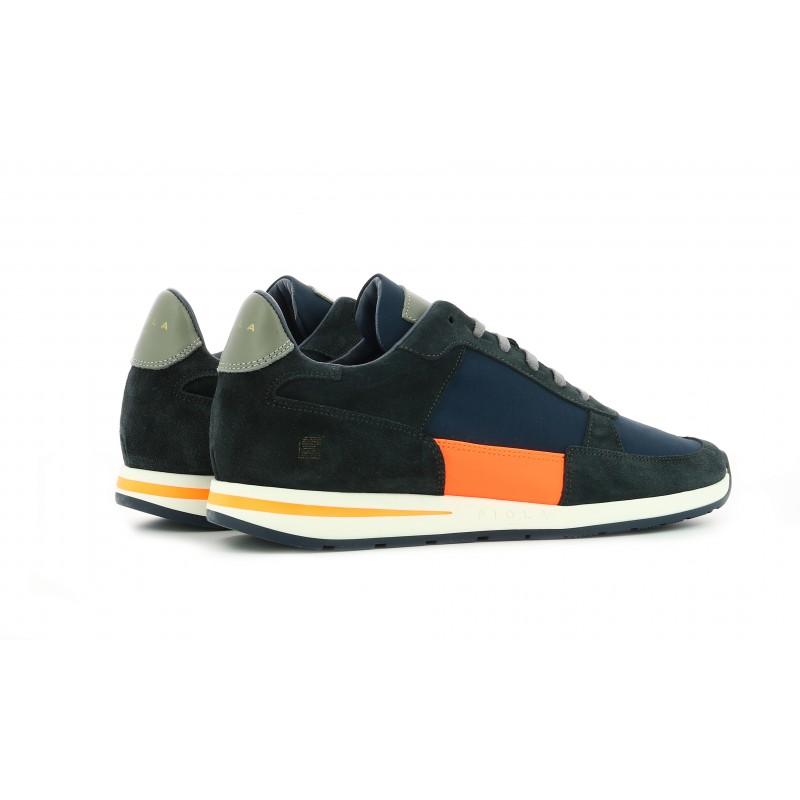 Callao - Navy Fluo Orange - Man