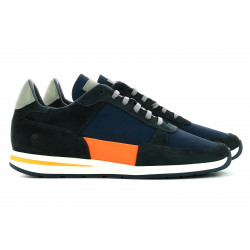 Callao - Navy Fluo Orange - Man