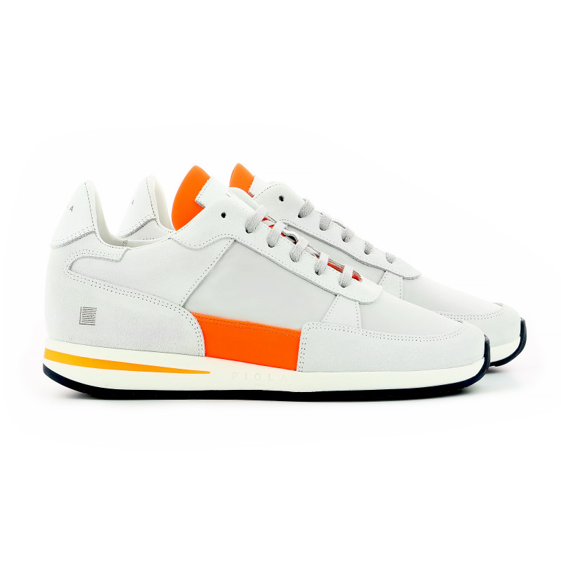 Callao - White Fluo Orange - Woman