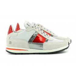 CALLAO OFF WHITE RED SILVER PYTH