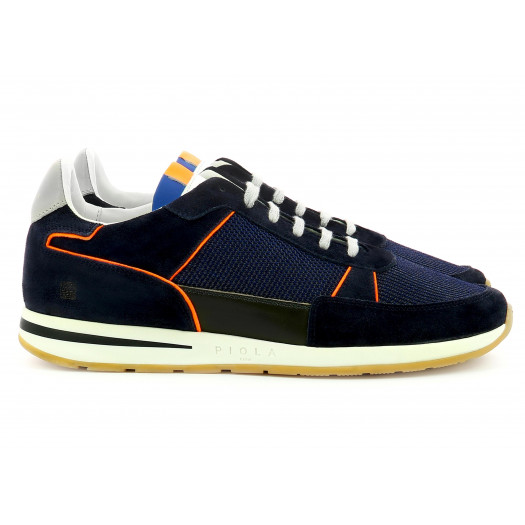 Callao - Navy Orange Fluo - Man